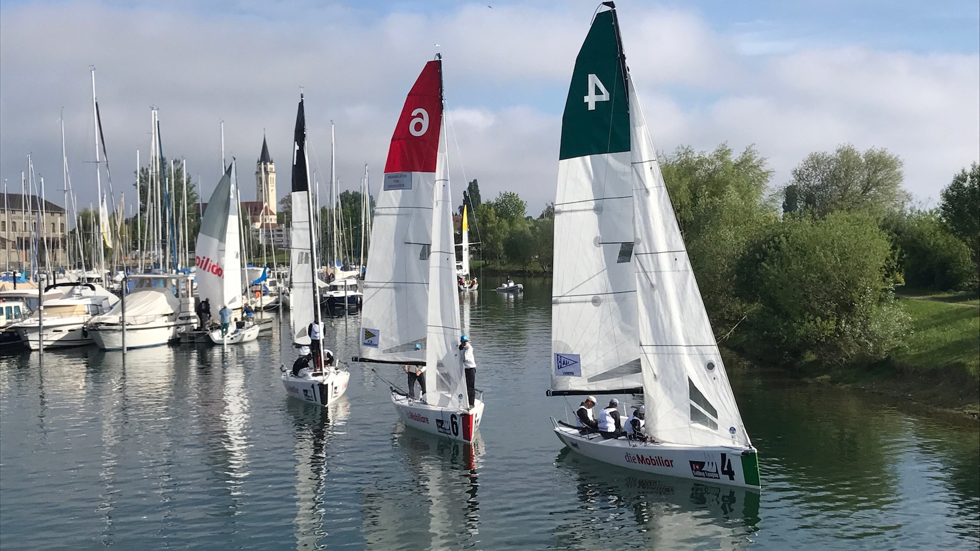 Swiss Sailing Challenge League in vollem Gang