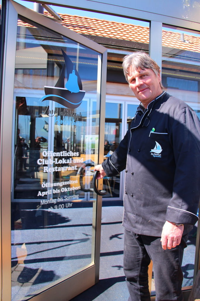 Restaurant Hafeglöggli Romanshorn André Clavien Eröffnung